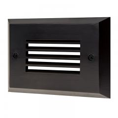 Face Plate for Rectangular LED Step Light - Open Window or Louvered