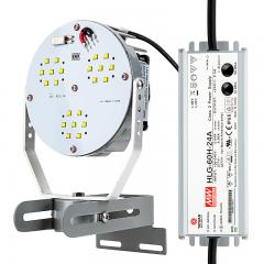 45W LED Retrofit Kit for 100W Metal Halide Fixtures - 5,300 Lumens - 5000K