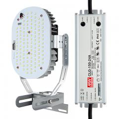 100W LED Retrofit Kit for 250W Metal Halide Fixtures - 12,700 Lumens - 5000K