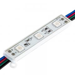 RGB LED Modules - Linear Sign Modules w/ 3 SMD LEDs - 22 Lumens