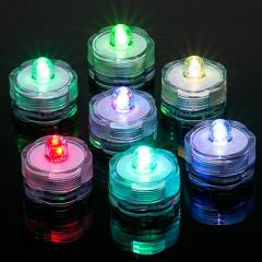 Submersible RGB LED Tea Lights - LED Candle Lights - Floralytes