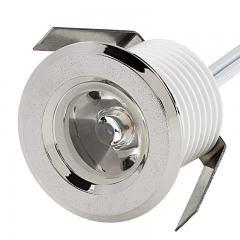 LED Step Lights - 1 Watt - 1 LED Mini Round Deck / Step Light - 60 Lumens