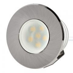 LED Vehicle Accent Lights - 0.5 Watt - 6 LED Recessed Vehicle Accent Light - 25 Lumens