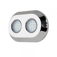 LED Underwater Boat Lights and Dock Lights - Double Lens - 120W