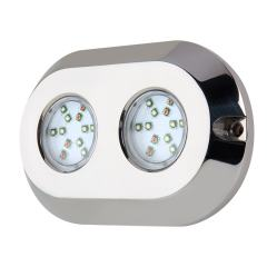 RGB LED Underwater Boat Lights and Dock Lights - Dual Array- 120W