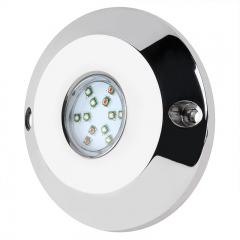 RGB LED Underwater Pool Lights and Fountain/Pond Lights - Single Array - 60W