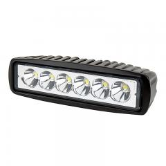 "Off-Road LED Work Light/LED Driving Light - 6"" Rectangle - 13W - 1,300 Lumens"
