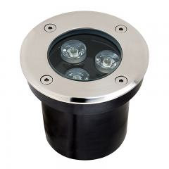 G-LUX Linkable LED Flat Top In-Grade Well Light - 3 Watt