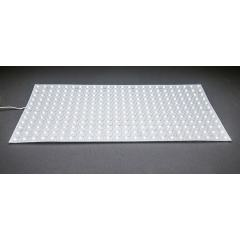 "White LED Back Lighting Sheet - 18.9"" x 9.45"" - 24V - IP20 - 5000K/4000K/3000K - Cool White 5000K"