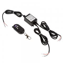 Wireless Strobe Light Controller with Key Fob Remote - Dual 24W Outputs - 16 Strobe Patterns