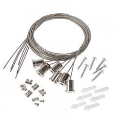 Hanging Kit for 2x4 LED Panel Light - Suspension Mount