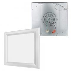 Flush Mount LED Panel Light - 1x1 - 1,800 Lumens - 18W Dimmable Even-Glow® Light Fixture