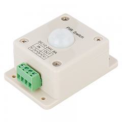 PIR Motion Sensor Switch - 12-24 VDC - 8 Amps