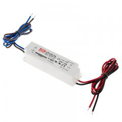 Mean Well LED Switching Power Supply - LPV Series 20-100W Single Output LED Power Supply - 24V DC