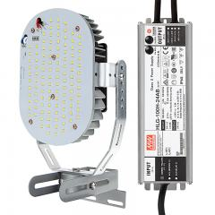 80W LED Retrofit Kit for 250W Metal Halide Fixtures - 10,450 Lumens - 5000K