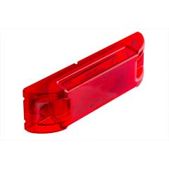 "Rectangular LED Truck and Trailer Lights - 6"" LED Side Clearance Lights - Pigtail Connector - Surface Mount - 8 LEDs"