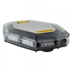 Mini Emergency LED Light Bar with 12V Accessory Plug Adapter - Magnetic Mount - 360 Degree Safety Strobe Light