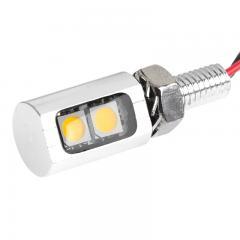Miniature LED License Plate Bolt - Stud Mount
