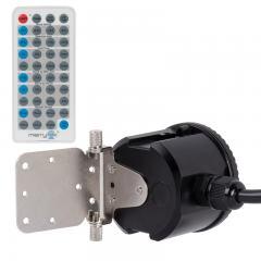Merrytek Microwave Motion Sensor w/ Optional Remote - Adjustable Wall/Ceiling Mount