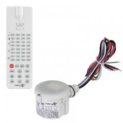 Merrytek Microwave Motion Sensor w/ Optional Remote - Knockout Mount