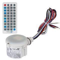 Merrytek Microwave Motion Sensor w/ Optional Remote - Knockout Mount