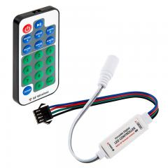 Dream-Color Chasing RGB Controller and RF Remote - Dynamic Color-Changing Modes