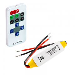 Single Color LED Controller - Wireless RF Remote w/ Dynamic Modes