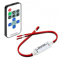 Single Color LED Controller with Dynamic Modes - RF Remote