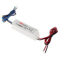 Mean Well LED Switching Power Supply - LPV Series 20-100W Single Output LED Power Supply - 12V DC