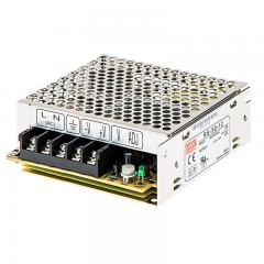 Mean Well LED Switching Power Supply - RS Series 50W Enclosed LED Power Supply - 12V DC