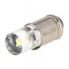 S4S/8 LED Boat and RV Light Bulb - 1 LED Midget Groove S4S/8 Retrofit - 4 Lumens