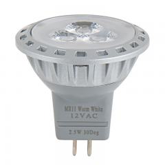 MR11 LED Boat and RV Light Bulb - 25 Watt Equivalent - Bi-Pin Bulb - 240 Lumens