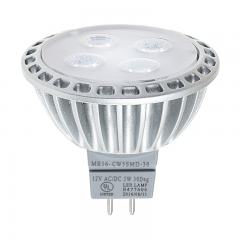 MR16 LED Bulb - 40 Watt Equivalent - 12V AC/DC - Bi-Pin LED Spotlight Bulb - 400 Lumens