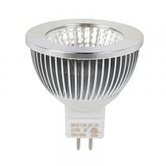5W MR16 LED Light Bulb - Bi-Pin LED Spotlight Bulb - 50W Equivalent - 500 Lumens - 12V AC/DC