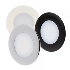 "2.5"" Recessed LED Downlight - Puck Courtesy Light Fixture - 90 Lumens - 2700K/4000K/5700K"