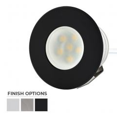 Round Metal - 0.5 Watt Mini LED Step Lights - 4200/2600K