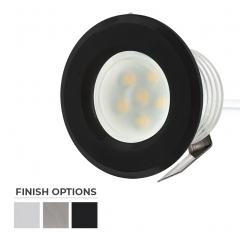 Round Plastic - 0.5 Watt Mini LED Step Lights - 4200/2600K