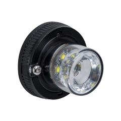 LED Hideaway Strobe Lights - Mini Emergency Vehicle LED Warning Lights w/ Built-In Controller - Surface Mount