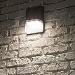 20W Mini LED Wall Pack w/ Integrated Photocell - 2,500 Lumens - 70W Metal Halide Equivalent - 5000K/4000K/3000K