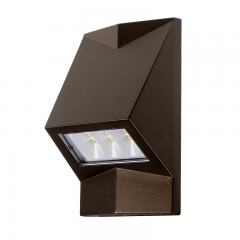 6W Bronze Architectural LED Wall Sconce - 60W Equivalent - 600 Lumens - 4000K