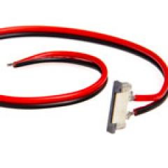 NFLS 2 Contact 8mm Non-Weatherproof Strip Pigtail Connector