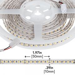 High CRI LED Strip Light - 24V LED Tape Light w/ LC2 Connector - High Density - 330 Lumens/ft.