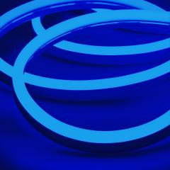 LED Neon Strip Light - 5m LED Side Bend Neon Flex - 24V - IP65 - Blue