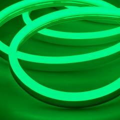 LED Neon Strip Light - 5m LED Side Bend Neon Flex - 24V - IP65 - Green