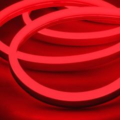 LED Neon Strip Light - 5m LED Side Bend Neon Flex - 24V - IP65 - Red