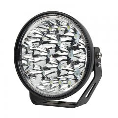 "Long Range LED Spot Light - Ultra Narrow Off-Road Light Pod - 7"" Round - 110W - 18020 Lumens"