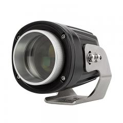 "LED Laser Light Pod - 3"" Round - Stainless Mounting Bracket - 11W - 1000 Lumens"