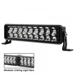 "10"" Link Series Off-Road LED Light Bar - Dual Row - Spot Beam - 42W - 3290 Lumens"