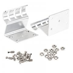 Pair of Mounting Clips for SBL Pro Series O-Shaped Aluminum LED Profile Housing