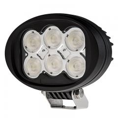 "Off-Road LED Work Light/LED Driving Light - 6"" Oval - 45W - 5400 Lumens"